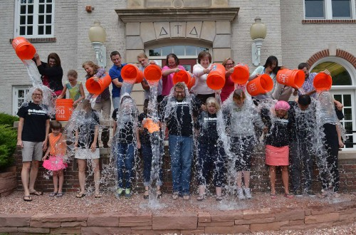 Continuing Education Responds to ALS Ice Bucket Challenge