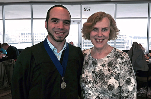 Non-traditional Student Earns Chancellor's Recognition Award