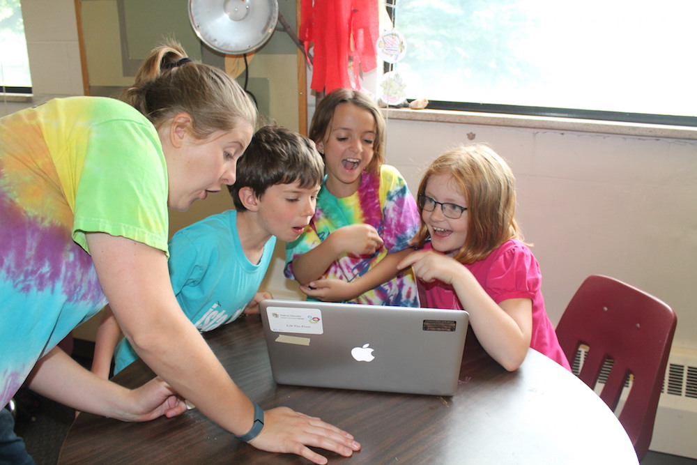 Science Discovery summer camps open the STEM world to students ranging in age from 5 to 18.