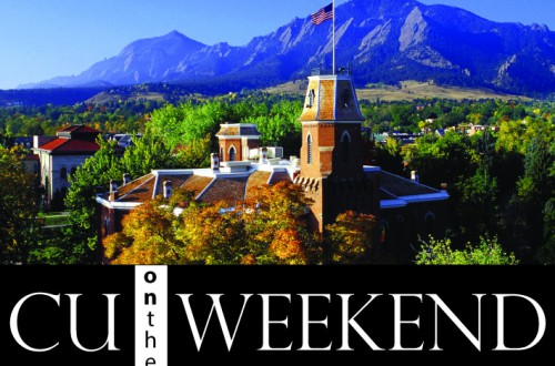 Free CU on the Weekend Fall Lectures Begin on Sept. 24