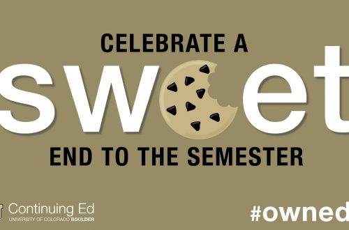 Celebrate a Sweet End to the Semester