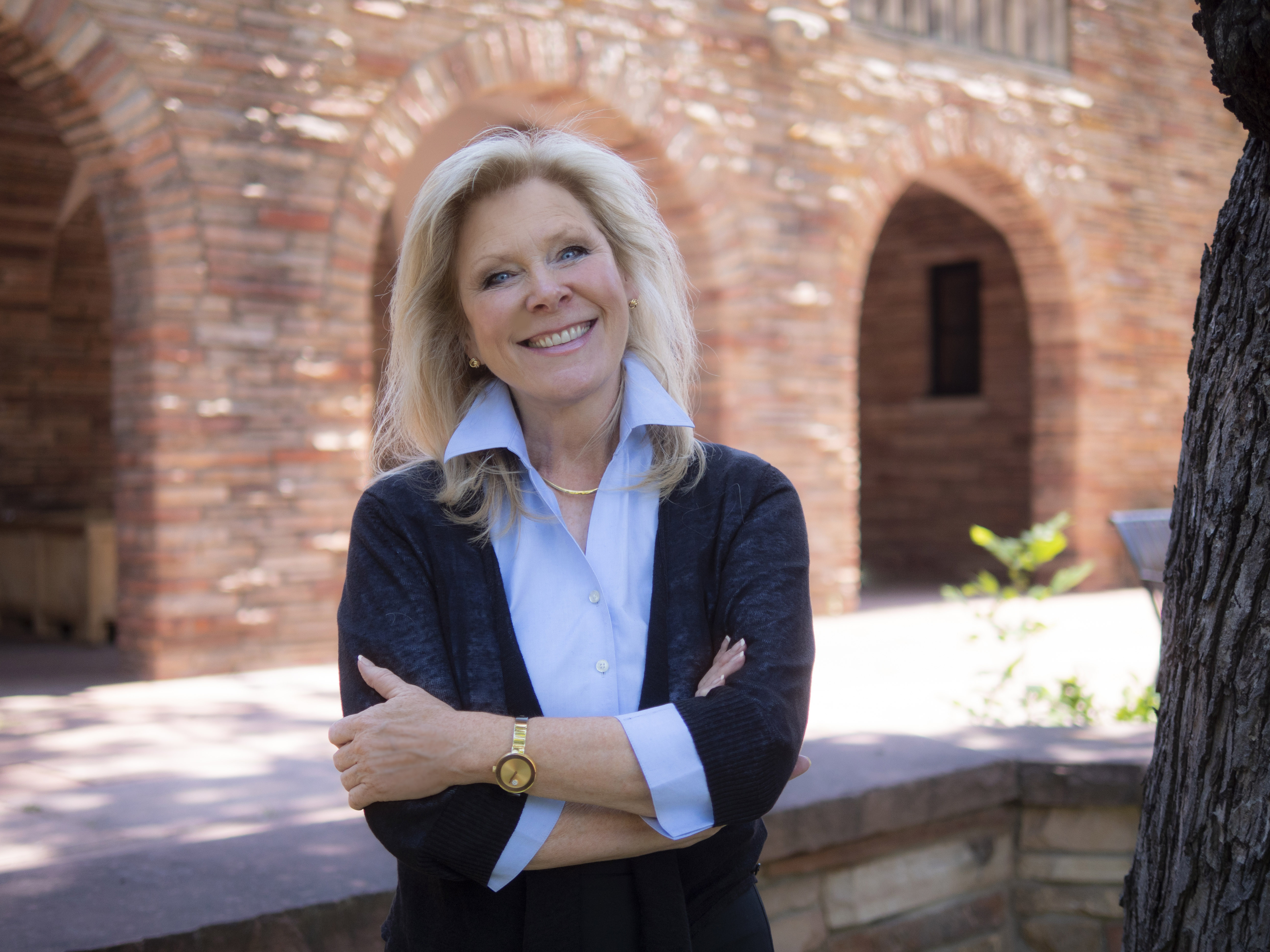 Sara Thompson, Dean of Division of Continuing Education and Vice Provost of Summer Session and Outreach and Engagement for CU Boulder. (Photo by Glenn Asakawa/University of Colorado)
